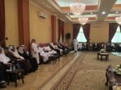"""مجلس أسرة """"السماعيل"""" يحتفي بالمهنئين بعيد الأضحى المبارك"""