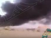 شاهد.. الانفجار الذي أودى بحياة 22 شهيداً من جنود الإمارات في اليمن