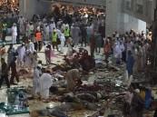 """بالصور… حتى الساعة """"الثامنة"""" الوفيات 62 في حادثة """"مكة"""" (تحديث4)"""