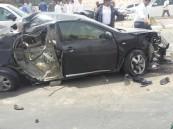 """بالفيديو والصور … حادث شنيع لثلاث سيارات  بـ """"الدائري"""" والحالات حرجة"""