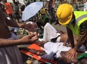 بالصور.. وفاة 453 حاج ,و إصابة 719 نتيجة التدافع في منى