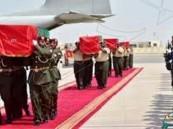 الإمارات: إكتمال وصول 52 شهيداً من المشاركين بقوات التحالف في اليمن