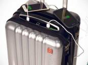 أذكى حقيبة سفر في العالم.. مزودة بجهاز تتبع وبصمة وميزان ذاتي !