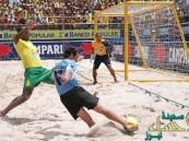 بالصور.. في #الأحساء: شاطئ العقير يستضيف بطولة عالمية لكرة الشواطئ