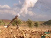 القوات السعودية تدمر عربات ومركبات للميليشيات في جازان
