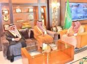 سمو ولي العهد يستقبل الوكلاء المساعدين للشؤون الأمنية في إمارات المناطق