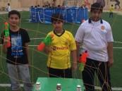 نادي الحي بمدرسة الأمير سعود بن جلوي ينفذ برنامج للألعاب المائية