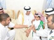 بالصور.. وكيل محافظة الأحساء يرعى تدشين حملة تطعيم الحصبة