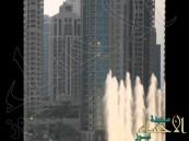شاهد.. مغامرة مثيرة للشيخ حمدان بن راشد في سماء دبي