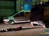 شاهد.. الشرطة التركية تربط جثة كردي بسيارة وتسحلها في الشوارع !
