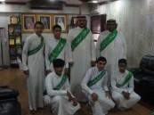 مدرسة القارة الثانوية تنفذ برنامج سفير وطن لليوم الوطني