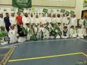 عمار بن ياسر تحتفل بطلابها بمناسبة اليوم الوطني الـ 85