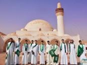 طلاب ثانوية العرامية يزورون قصر إبراهيم احتفاء باليوم الوطني