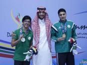 """""""الهاشم"""" يخطف ذهبية دول مجلس التعاون لرياضة السباحة"""