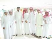 """بالفديو والصور.. محاسن الثانوية في مستشفى الأمير سعود بن جلوي بـ""""عيادة مريض"""""""