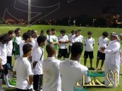 الأخضر الأولمبي يؤدي تمرين استرجاعي بعد لقاء إيران