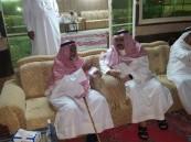 سمو الرئيس الفخري يطمئن على صحة الشيخ طالب بن شريم