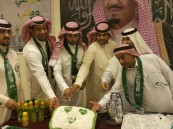 ثانوية سعيد بن جبير الليلية تحتفي باليوم الوطني