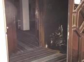 """بالصور… في #الأحساء محاولة فاشلة لـ """"إحراق"""" مسجد والأهالي يستنكرون"""