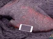 شاهد.. ماذا يحدث عند سقوط آيفون 6s في الحمم البركانية ؟!