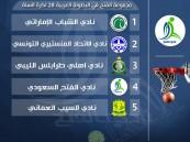 """قرعة الأندية العربية الـ 28 لكرة السلة تضع """"الفتح"""" أول المجموعات"""