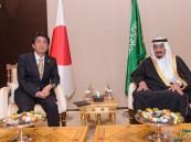 خادم الحرمين الشريفين يلتقي رئيس الوزراء الياباني على هامش قمة الـ20