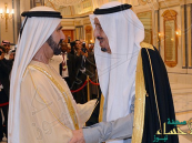 حاكم دبي: #الملك_سلمان يقود مسيرة مجلس التعاون إلى المجد والعلا