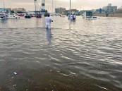 بالصور.. جدة تغرق في مياه الأمطار.. تعرّف على الأثار الكارثية التي لحقت بها !