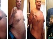 بالفيديو.. شاب أمريكي يبهر العالم بفقده 181 كلغ من وزنه دون أي عملية جراحية!!