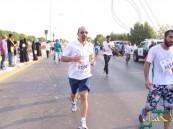 بالصور.. وزير الصحة يشارك في سباق جري بكورنيش الخبر بالشرقية