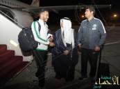 بعثة الأخضر تصل عمّان استعداداً للقاء فلسطين