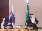 خادم الحرمين يلتقي الرئيس الروسي على هامش أعمال قمة دول العشرين