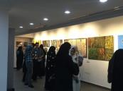 """بالصور.. """"بيهانس الخبر"""" معرض إبداعي بمشاركة التشكيلية """"الغدير"""""""