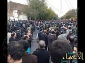 بالفيديو.. مظاهرات عاصفة تشعل إيران بسبب مسلسل عنصري