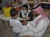 """بالتعاون مع إدارة الصحة العامة.. """"الرميلة"""" الابتدائية تنفذ حملة لتطعيم أبنائها"""