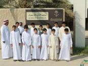 """متوسطة """"الوليد بن عبدالملك"""" في زيارة لمتحف أثار #الأحساء"""