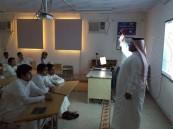 فريق إسعافي يبدأ نشاطه بمدرسة الهفوف الثانوية