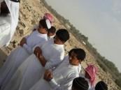 متوسطة المراح تصطحب طلابها لزيارة مقبرة النهارش بالمراح