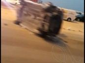 بالصور..حادث مروع يصرع طفل و يصيب آخرين