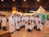 """أكثر من 2000 زائر لــ""""ركن الطب عبر الحضارات"""" بمعرض جامعة الدمام بالعثيم"""