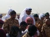 بالفيديو والصور.. أمير قطر يتقدم مشيعي جثمان الجندي الشهيد محمد سليمان