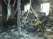 ممرضة حضانة مستشفى جازان تنقذ 8 أطفال من النيران
