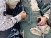 """بالصور.. سقوط  """"أف-16"""" بحرينية على الأراضي #السعودية.. ونجاة قائدها"""