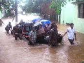 بالصور.. غرق مدينة هندية في مياه أكبر فيضان منذ 100 عام