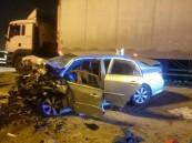 بالصور.. سبعة مصابين بينهم امرأتان بحادثي دهس في #الخبر