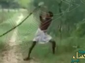 بالفيديو.. هندي يضرب بيديه كوبرا حتى الموت بعدما قتلت ابنه !!