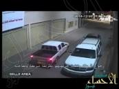 شاهد.. فيديو ينشر لأول مرة يظهر لحظة اغتيال رجل أمن بالقطيف