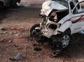 بالصور.. مقتل سائقين وإصابة 5 معلمات في تصادم بالقصيم
