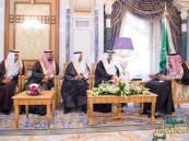 """بالصور.. """"وزير التعليم"""" وأعضاء """"الشورى"""" الجدد يؤدون القسم أمام الملك"""