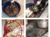"""شاهد في #الأحساء .. الأمانة تضرب بيد من حديد و تغلق عدد من""""المطاعم"""" و""""الكوفي شوب"""""""